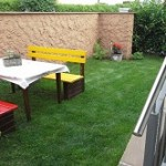 Gartenbank klein