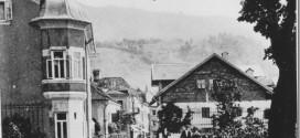 Mondsee in früheren Tagen – Die Rainerstraße – Früher und im Jahre 2016