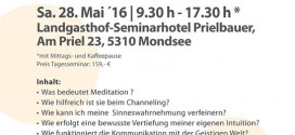 Vorträge und Coachings im Landgasthof-Seminarhotel Prielbauer