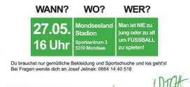 Schnuppertraining der Mondseer Fußballmädels – 27.05.2016