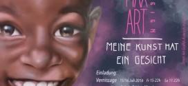 """MaxArtDesign Vernissage """"Meine Kunst hat ein Gesicht"""" in der Galerie Schloss Mondsee am 15-16.07.2016"""