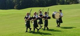 Schottische Band am Golfclub Drachenwand