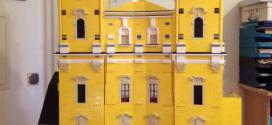 Lego Ausstellung im weihnachtlichen Mondsee