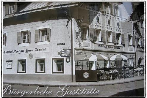 Umbau Rückblick 2008: Vom Gasthof Blaue Traube zum Hotel Iris Porsche