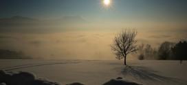 Mondseeberg im Winter – Fotos von Peter Witzelsteiner