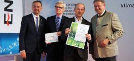 Service-Gärtner erneut von Umweltminister ausgezeichnet