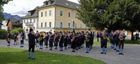 Wallfahrt vom Kameradschaftsbund Thalgau am 1. Mai in Mondsee