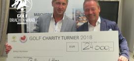 Golf Drachenwand: Golfen mit Herz Turnier spielt einen Reinerlös von € 25.000,- ein!