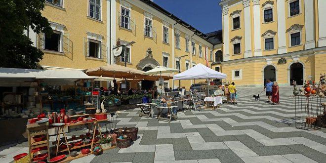 Fotos vom Töpfermarkt in Mondsee