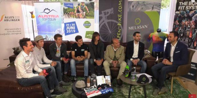 Spannende Talkrunde zum Mondsee 5-Seen Radmarathon und den Österreichischen Straßen-Staatsmeisterschaften