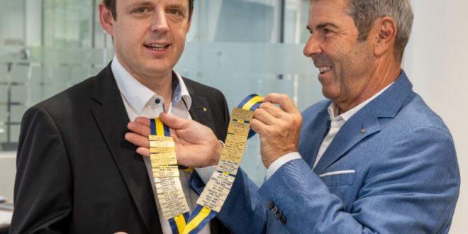 Franz Buchner ist neuer Rotary-Präsident